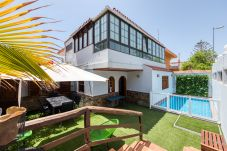 Ferienhaus in San Bartolomé de Tirajana - Great house with swimming pool close to the beach