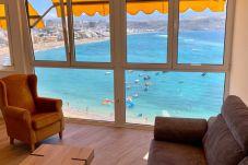 Ferienwohnung in Las Palmas de Gran Canaria - Panoramic views. Bay and reef landscape