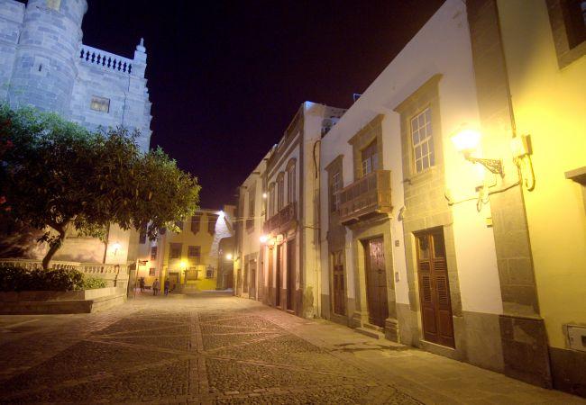 Estudio en Las Palmas de Gran Canaria - Casa emblemática del mochilero