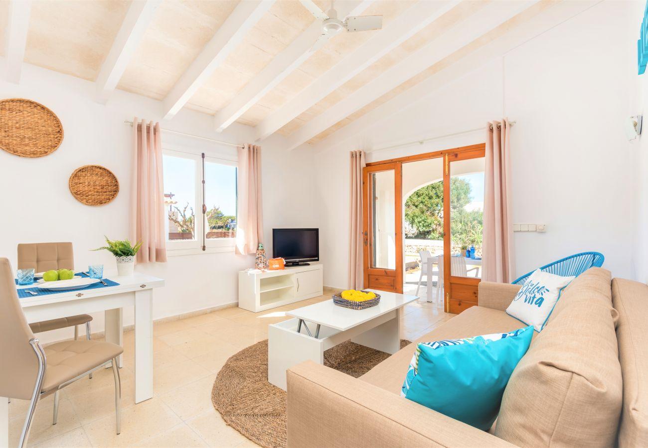 Apartamento en Cala´n Blanes - Apartamento con bajada directa al mar, a las famosas plataformas de