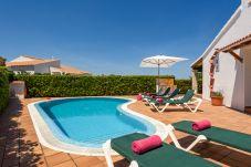 Villa in Cap d´Artruix - Villa privada en Cap d'artrutx con piscina privada,Wifi gratis, AC en habitación principal