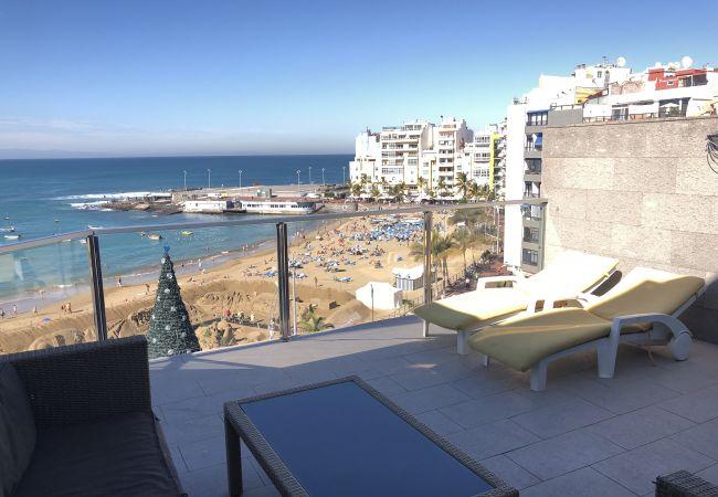 Apartment in Las Palmas de Gran Canaria - GRAN TERRAZA FRENTE AL MAR - SAG. 6D