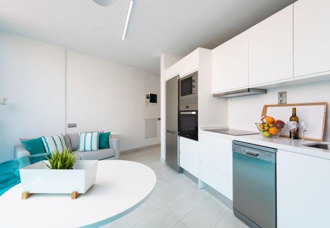 Apartment in Las Palmas de Gran Canaria - NEW, DOWNTOWN, PEDESTRIAN AREA NEAR THE BEACH AT THE HEIGHTS WITH WIFI APARTAMENT GETAWAY 401