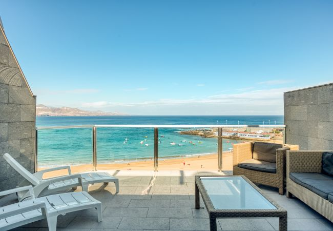 Apartment in Las Palmas de Gran Canaria - GREAT TERRACE IN FRONT OF THE BEACH 6º FLOOR