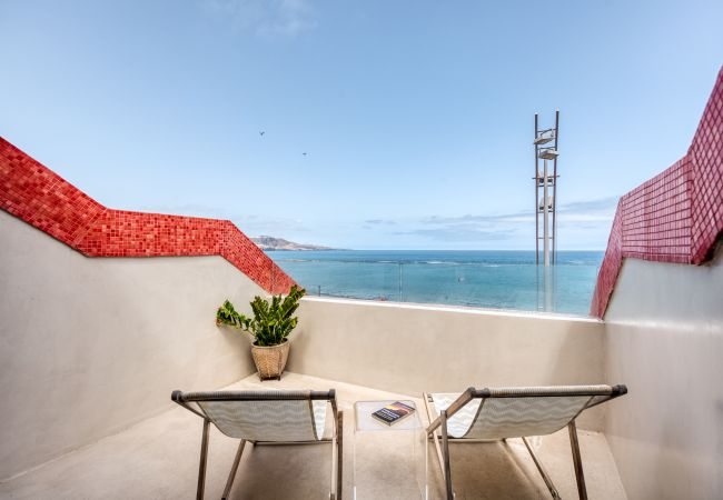 Apartment in Las Palmas de Gran Canaria - Front line, great sunsets, with sea views